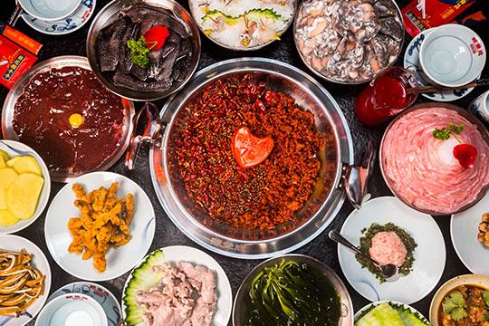 辣叁成燒菜火鍋
