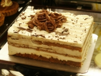 爱情的苦与甜:汉密哈顿提拉米苏蛋糕