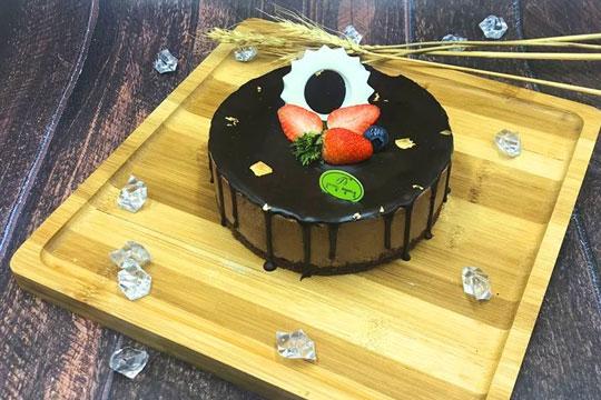 天使简约蛋糕