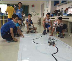 雄孩子機器人教育