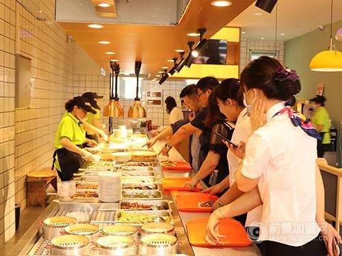 青禾馅饼中式快餐加盟