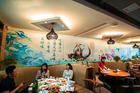 叶派龙虾私房菜加盟