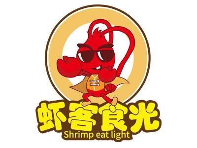 虾客食光LOGO
